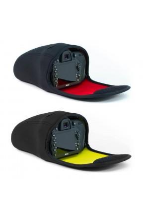 MegaGear Canon EOS 7D Mark II, 70D, 60D,EOS 650D, 700D, 5D Mark III, Rebel T5i, 6D, Rebel T4i, D5600, D3400, D5500, D7200, D3300, D810, D5300, D610, D7100, D600, D800, D3200 Neopren Fotoğraf Makinesi Kılıfı