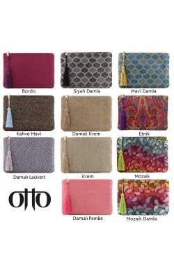 Otto Angelino Otantik Tasarım Kadın El Çantası Clutch